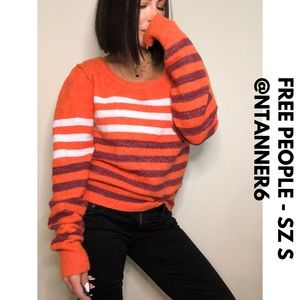 FREE PEOPLE - Stripped sweater - SZ S